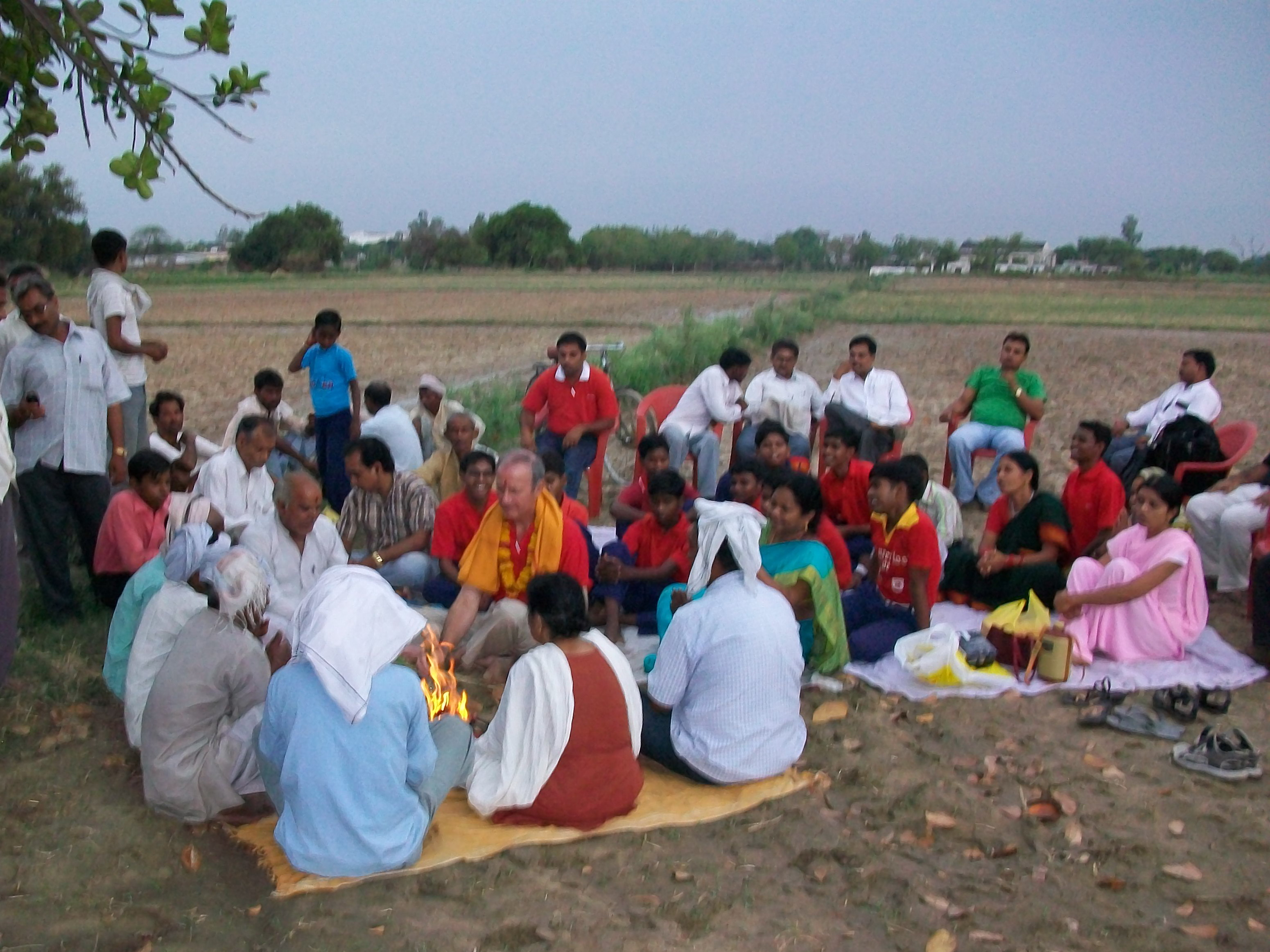 Mala india 06 07 2010 bhumi puja ou la b n diction de for Mala india magasin waterloo