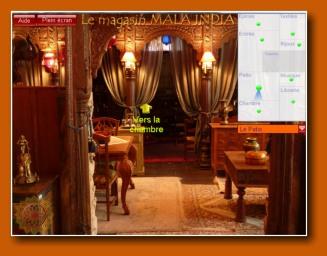 Mala india visite virtuelle du magasin panoramique for Mala india magasin waterloo